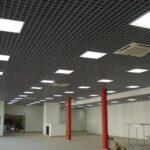 Установка офисных и промышленных светильников